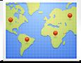 10 או יותר כתובות גוגל מקומות