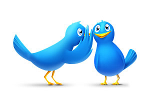 כפתור טוויטר