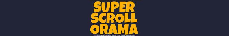 תוסף jQuery superscrollorama