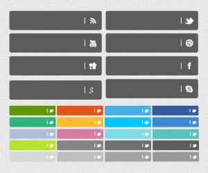 סט כפתורים חברתיים v141......