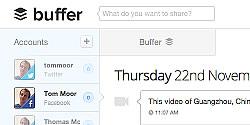התוסף של Buffer