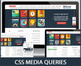 רשימת Css Media Queries ל...