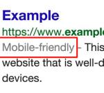 גוגל אומרת לגולשים – זה דף מותאם לסלולרי?!