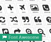 font awesome thumb 165x138