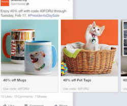 producs ads on fb